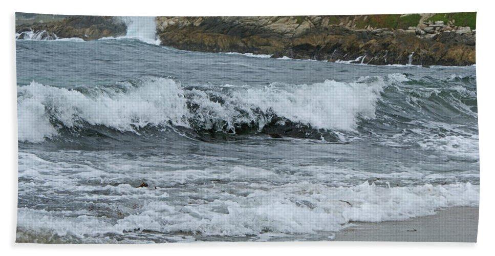 Beaches Beach Towel featuring the photograph Carmel 3 by Ernie Echols