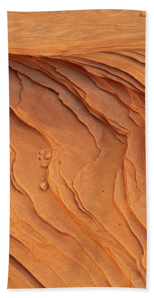 Coyote Buttes North Beach Towel featuring the photograph Carved By Wind by Dustin LeFevre