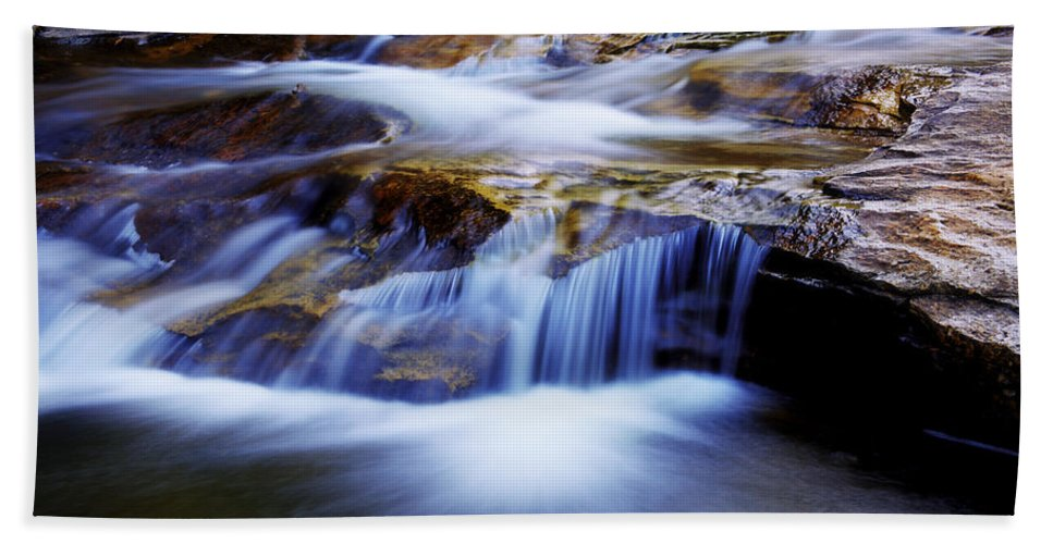 Chad Dutson Beach Towel featuring the photograph Cataract Falls by Chad Dutson