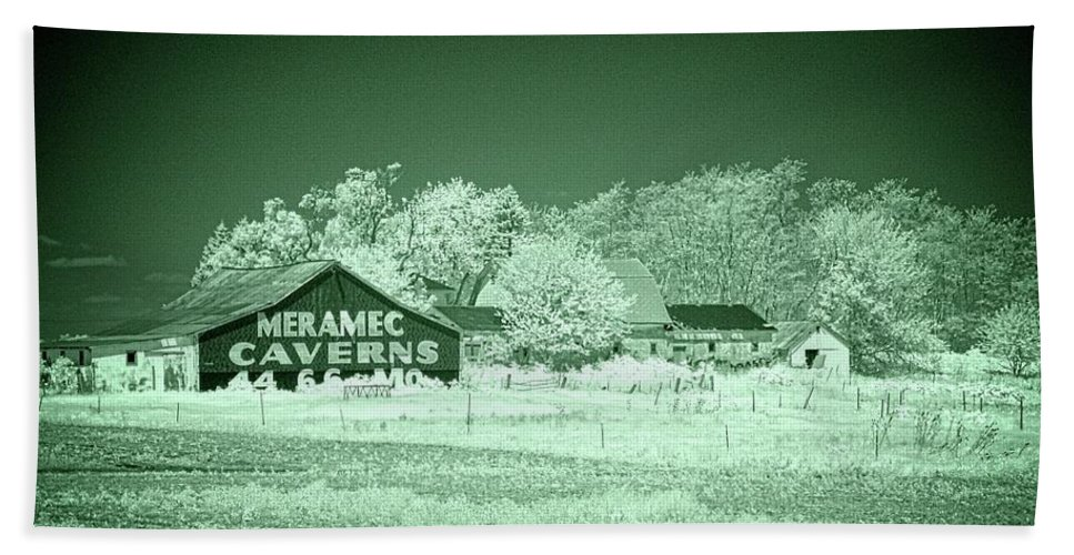 Cayuga Beach Towel featuring the photograph Cayuga Barn 2 by Fred Hahn