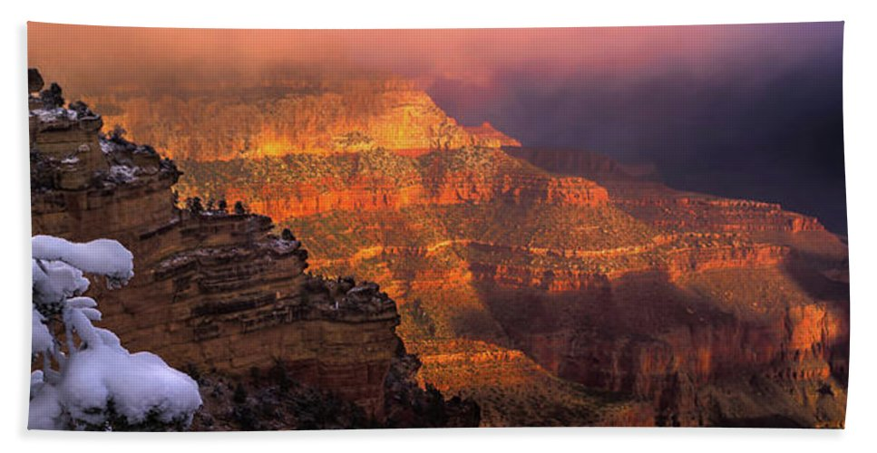 Grand Canyon National Park Beach Towel featuring the photograph Canyon Dawn by Mikes Nature