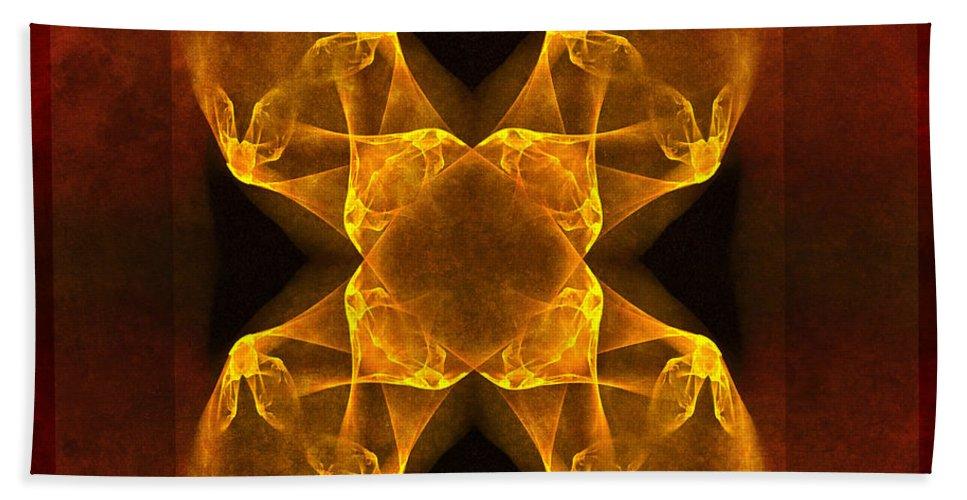 Gothic Beach Towel featuring the digital art Celtic Gothica by Georgiana Romanovna
