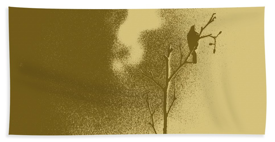 Tint Beach Towel featuring the photograph Chaffinch Tint Threshold by Eddie Barron