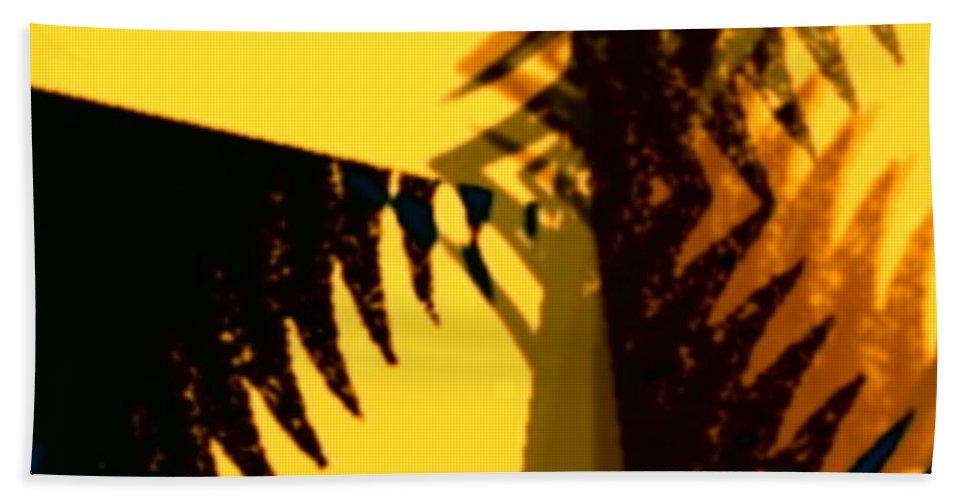 Art Digital Art Beach Towel featuring the digital art Change - Leaf11 by Alex Porter