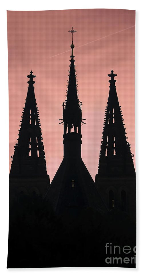 Church Beach Towel featuring the photograph Chapter Church Of St Peter And Paul by Michal Boubin