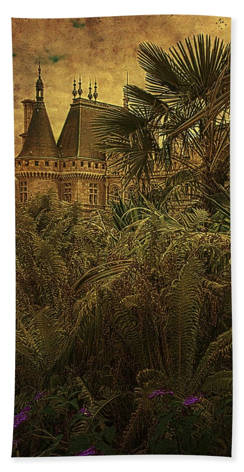 Chateau Beach Towel featuring the photograph Chateau In The Jungle by Chris Lord