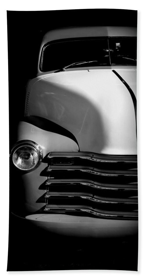 Chevy Beach Towel featuring the photograph Chevy In The Shadows by Imagery-at- Work