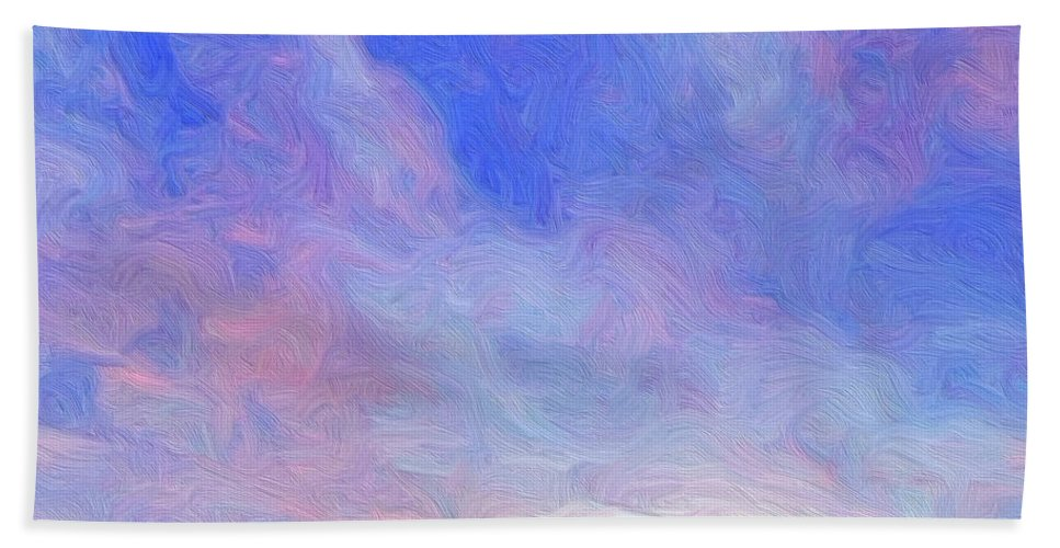 Prairie Beach Towel featuring the painting Cheyenne Spring by Dominic Piperata