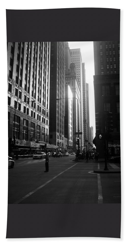 Beach Towel featuring the photograph Chicago 2 by Samantha L