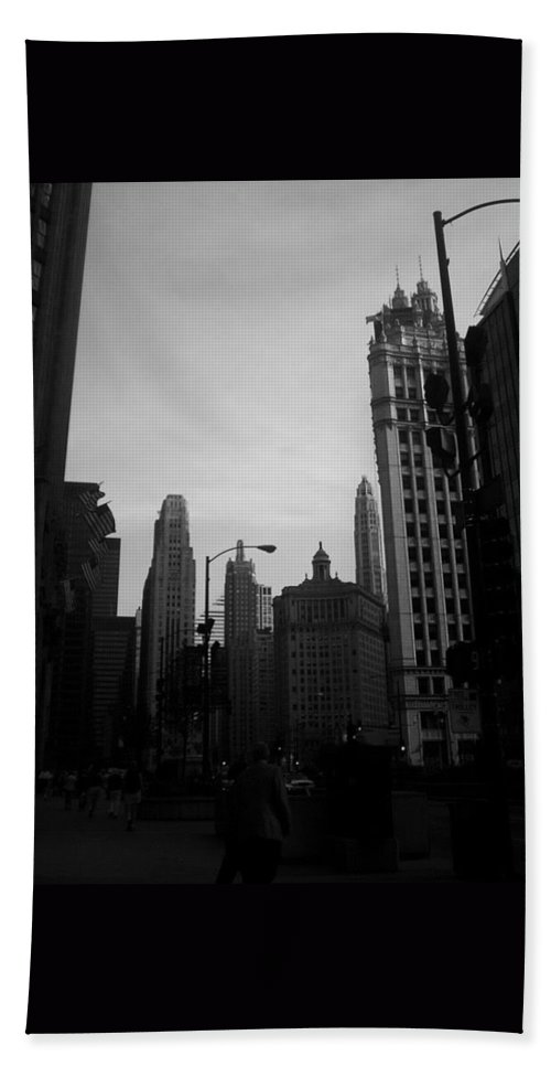 Beach Towel featuring the photograph Chicago 4 by Samantha L
