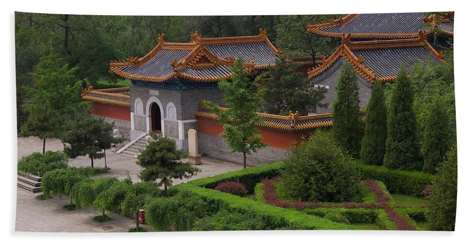 China Beach Towel featuring the photograph Chinese Palace by Tom Reynen