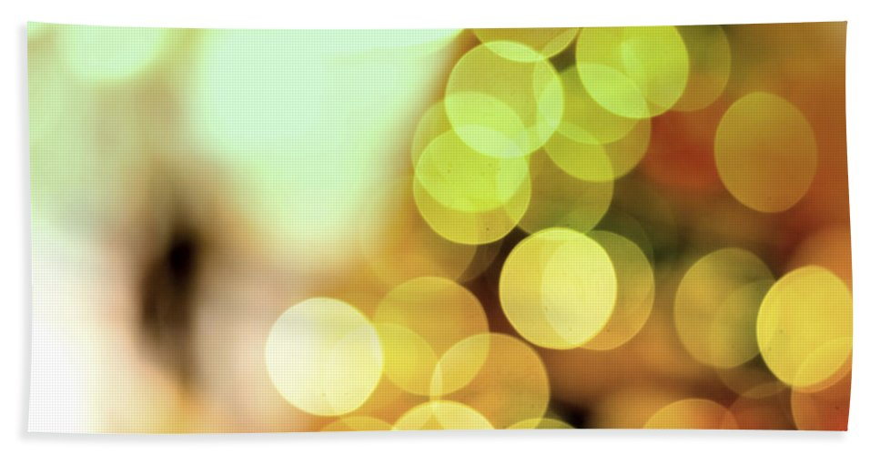Christmas Beach Towel featuring the photograph Christmas Decorations 3 by Jijo George