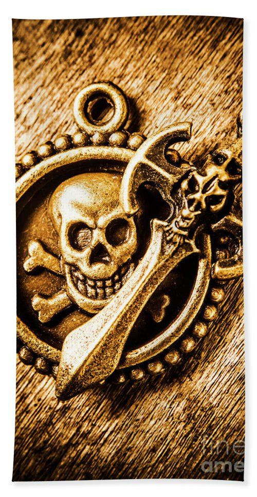 Pirate Beach Towel featuring the photograph Clash Of The Dead by Jorgo Photography - Wall Art Gallery