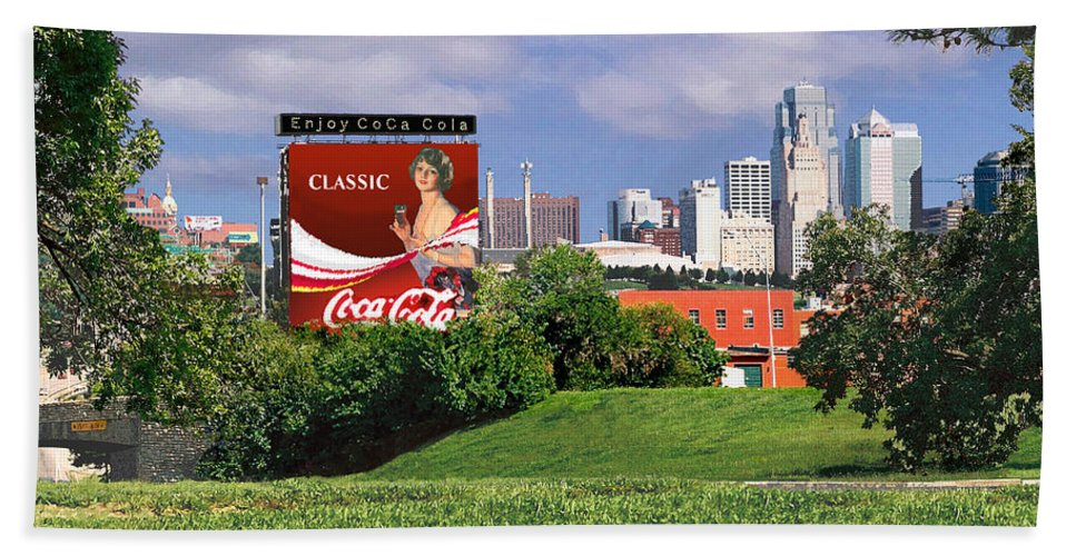 Landscape Beach Towel featuring the photograph Classic Summer by Steve Karol