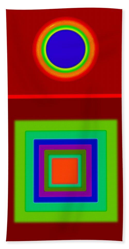 Classical Beach Towel featuring the digital art Classic Terracota by Charles Stuart
