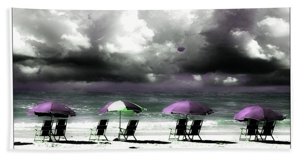 Beach Beach Towel featuring the photograph Cloud Illusions by Mal Bray
