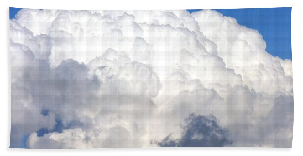 Sky Beach Towel featuring the photograph Cloud Nine 10 by Will Borden