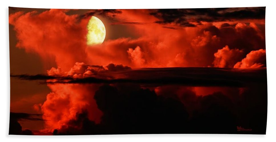 Emotion Beach Towel featuring the photograph Cloud Rider by Max Steinwald