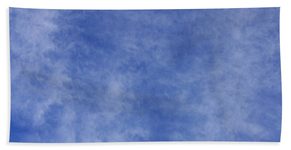 Cloud.sky Beach Towel featuring the photograph Clouds 1 by Teresa Mucha