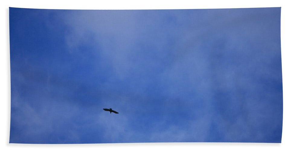 Cloud.sky Beach Towel featuring the photograph Clouds 2 by Teresa Mucha