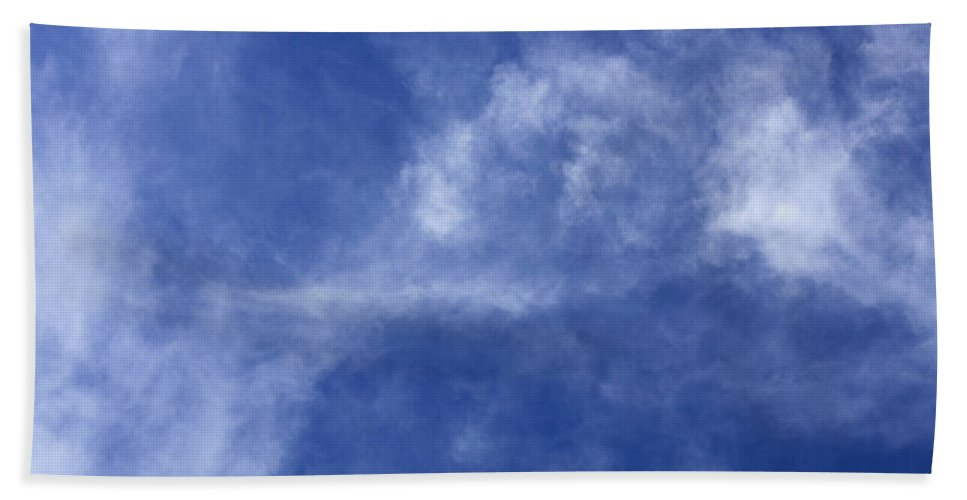 Cloud.sky Beach Towel featuring the photograph Clouds 7 by Teresa Mucha