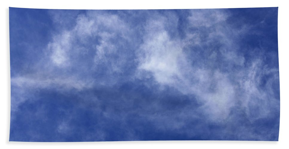 Cloud.sky Beach Towel featuring the photograph Clouds 8 by Teresa Mucha