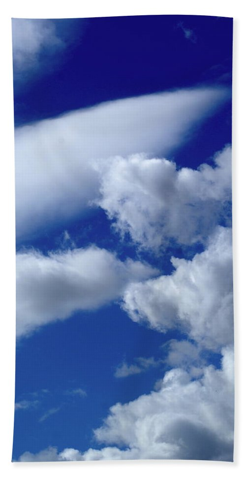 Nature Beach Towel featuring the photograph Clouds by Ben Upham III