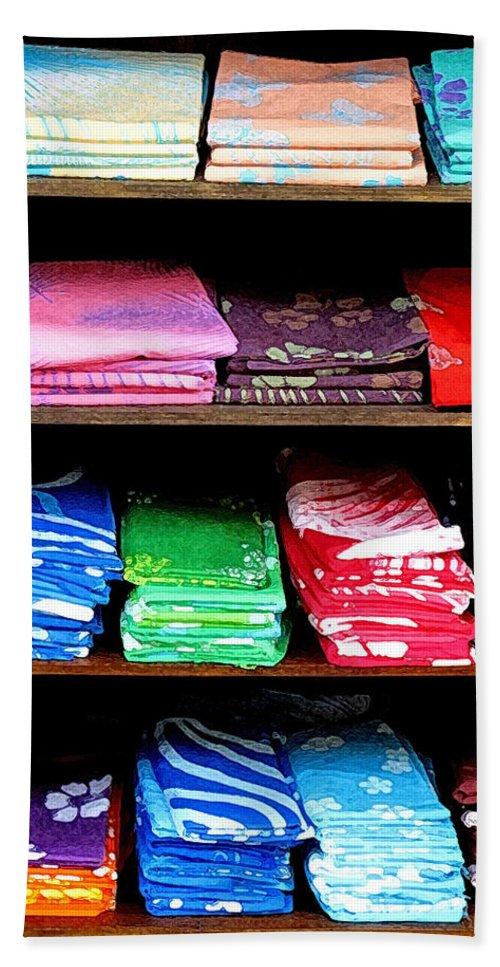 Batik Beach Towel featuring the photograph Color Rules by Ian MacDonald