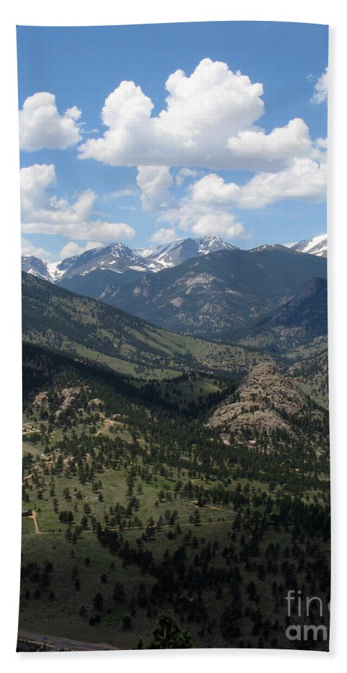 Colorado Beach Towel featuring the photograph Colorado by Amanda Barcon