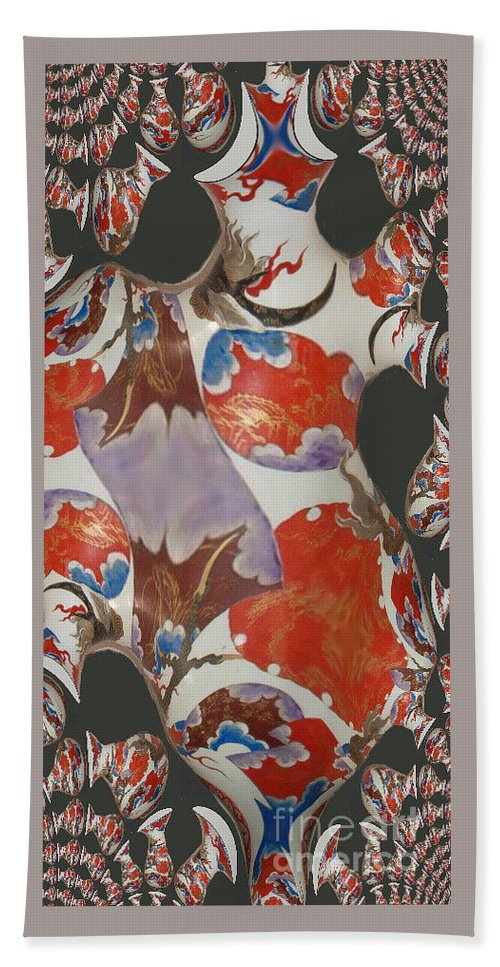 Fractal Beach Towel featuring the digital art Colorful Fractal by Charles Robinson