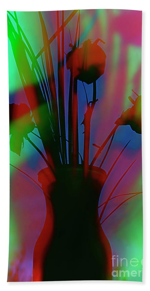 Floral Beach Towel featuring the photograph Colorfy Flowers. by Alexander Vinogradov