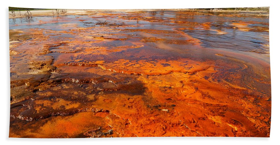 National Park Beach Towel featuring the photograph Colors And Layers by Beth Collins