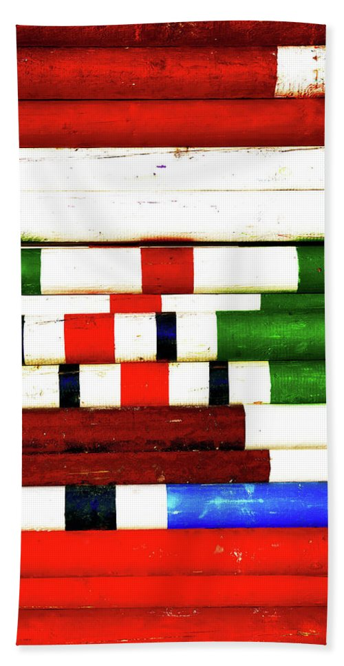 Colores Beach Towel featuring the photograph Colors by Zhecho Planinski