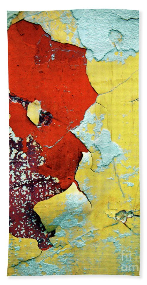 Abstract Beach Towel featuring the photograph Colour Wars by Tara Turner