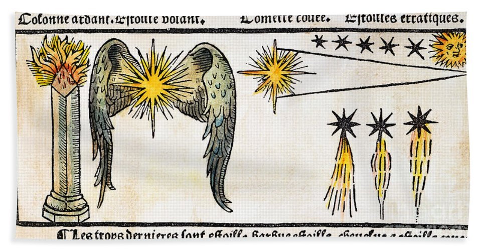 1496 Beach Towel featuring the photograph Comet, 1496 by Granger