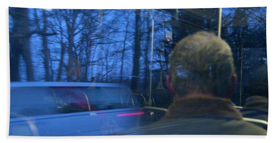 Photography Beach Towel featuring the photograph Commuting by Steven Natanson