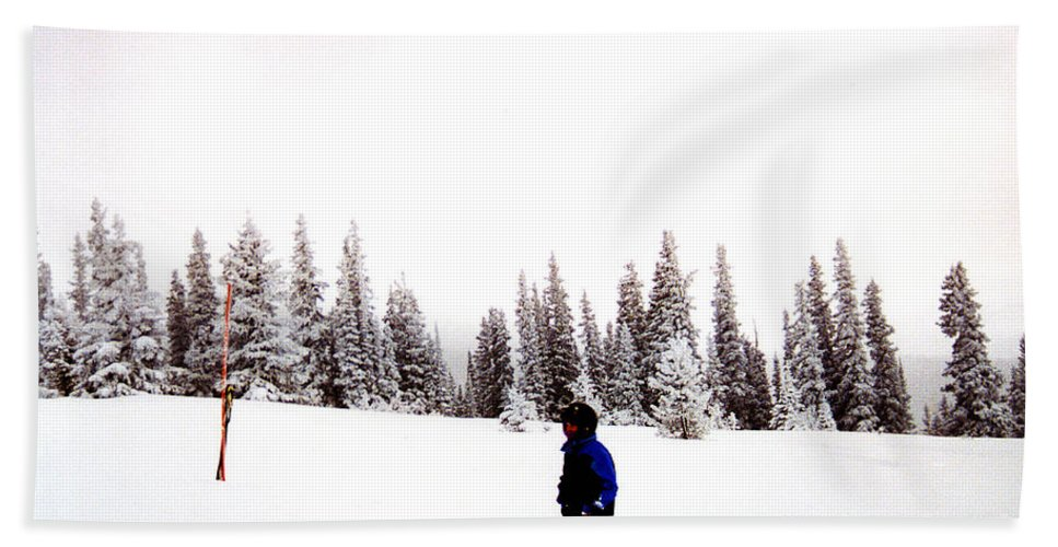 Clay Beach Towel featuring the photograph Continental Divide January 1 2000 by Clayton Bruster
