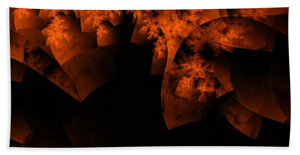 Coral Reef Beach Towel featuring the digital art Coral Reef by Ron Bissett
