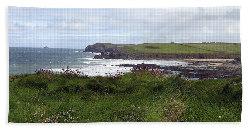 Cornwall Beach Towel featuring the photograph Cornwall Coast 3 by Kurt Van Wagner