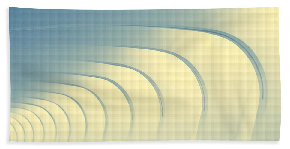 Arches Beach Towel featuring the photograph Corridoio D'incurvatura by Todd Klassy
