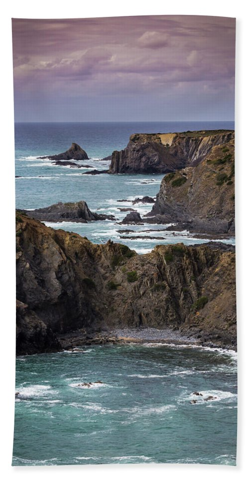 Costa Vicentina Beach Towel featuring the photograph Costa Vicentina by Edgar Laureano