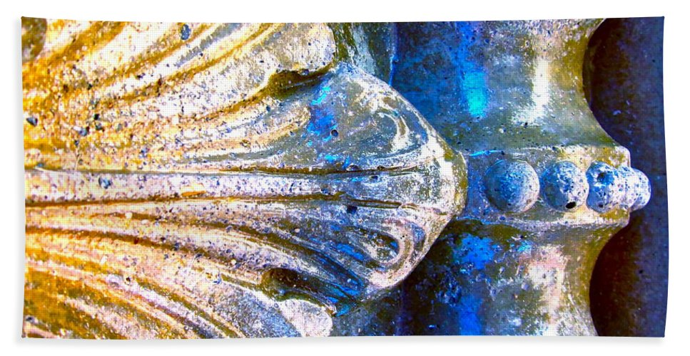 Photograph Of Concrete Beach Towel featuring the photograph Creative Concrete by Gwyn Newcombe