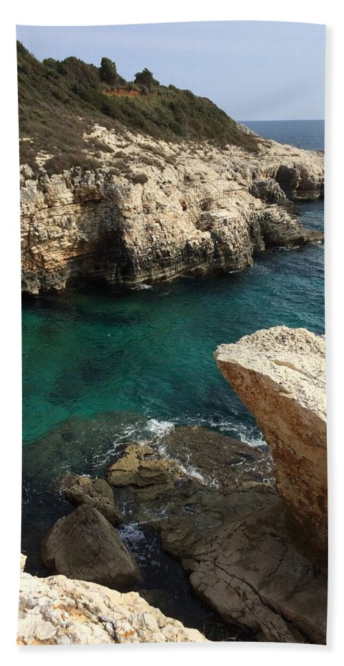 Beach Beach Towel featuring the photograph Croatia by FL collection