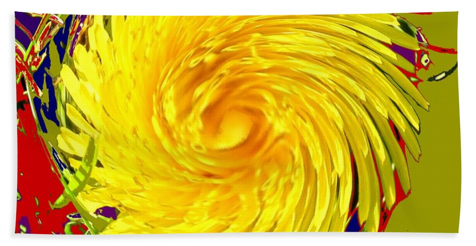 Flower Beach Sheet featuring the photograph Dandy Three by Ian MacDonald