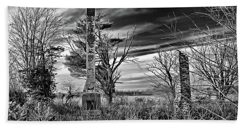 2d Beach Towel featuring the photograph Dark Days by Brian Wallace