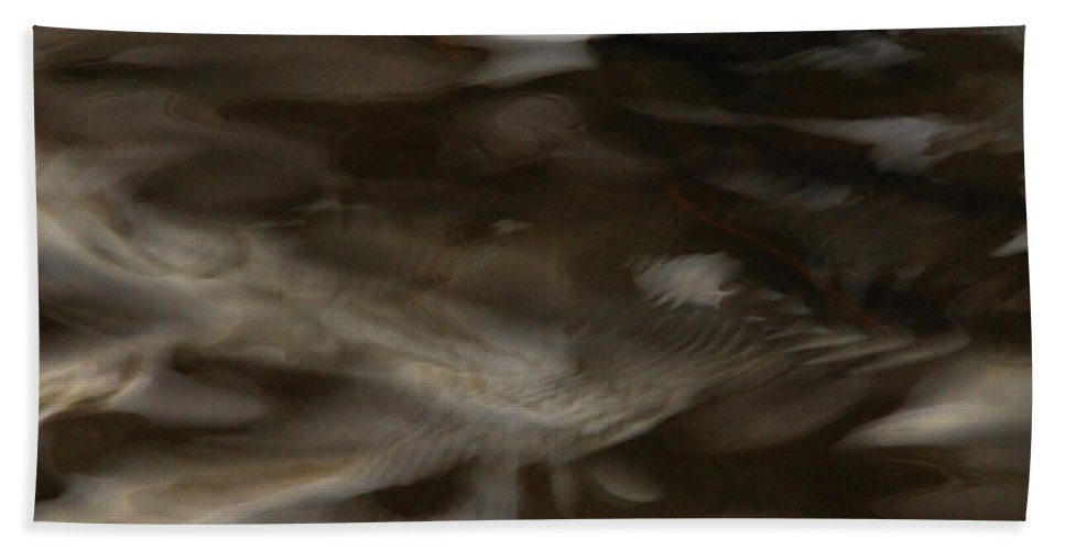 Water Beach Towel featuring the photograph Dark Mystery by Donna Blackhall