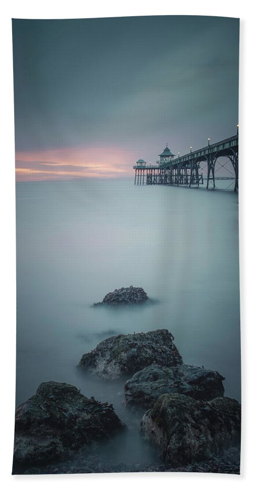 Landscape Beach Towel featuring the photograph Dark Night by Rich Wiltshire