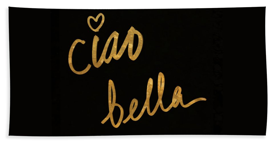 Darling Beach Towel featuring the painting Darling Bella II by South Social Studio