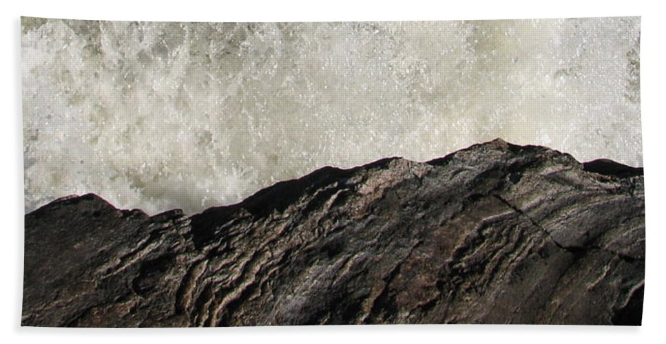 Abstract Beach Towel featuring the photograph Day And Night by Kelly Mezzapelle