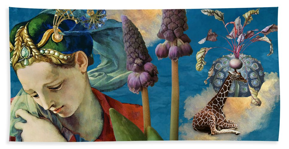 Dreamscape Beach Towel featuring the digital art Day Dreams by Laura Botsford
